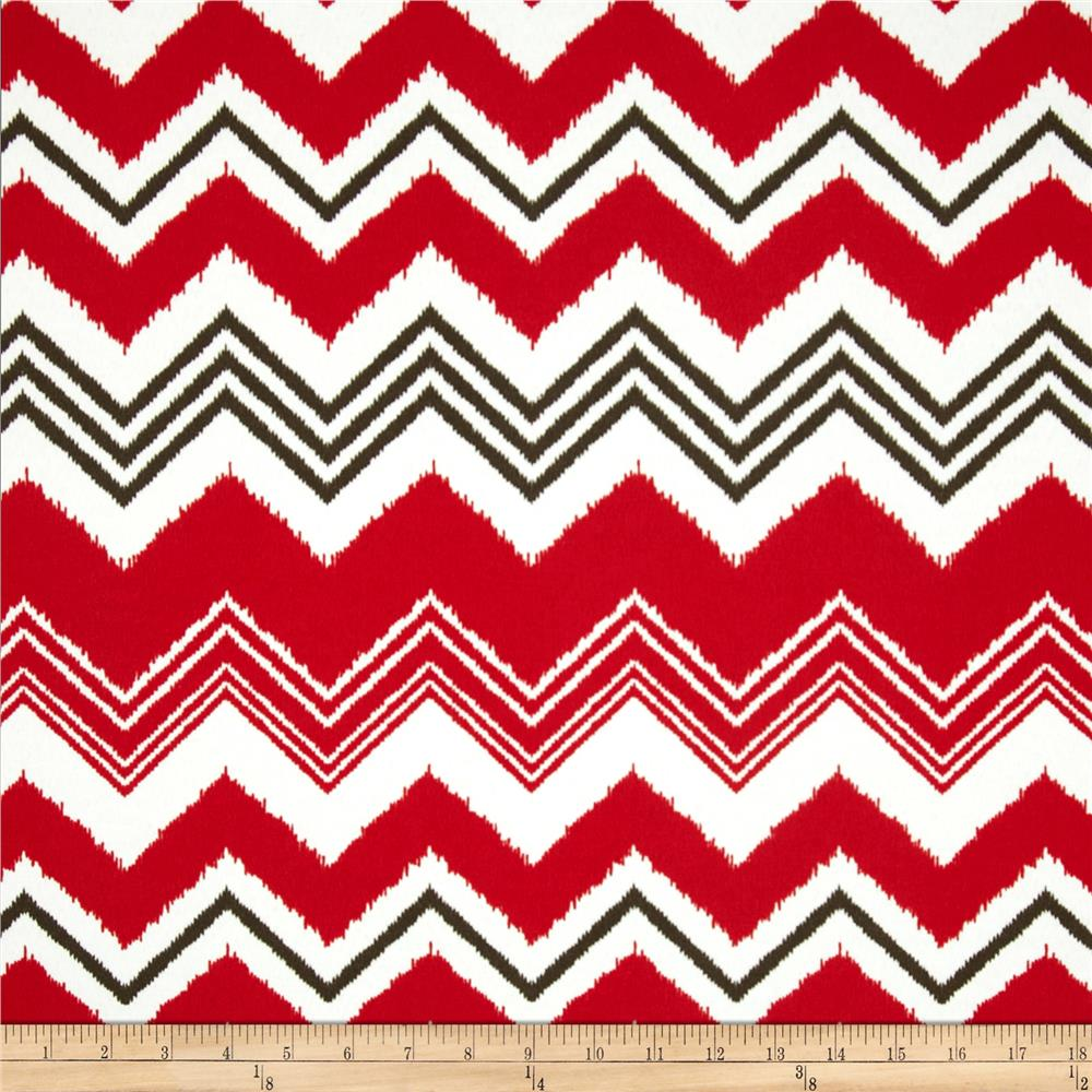 Premier Prints Indoor/Outdoor Zazzle Rojo