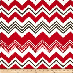 Premier Prints Indoor/Outdoor Zazzle Rojo Red