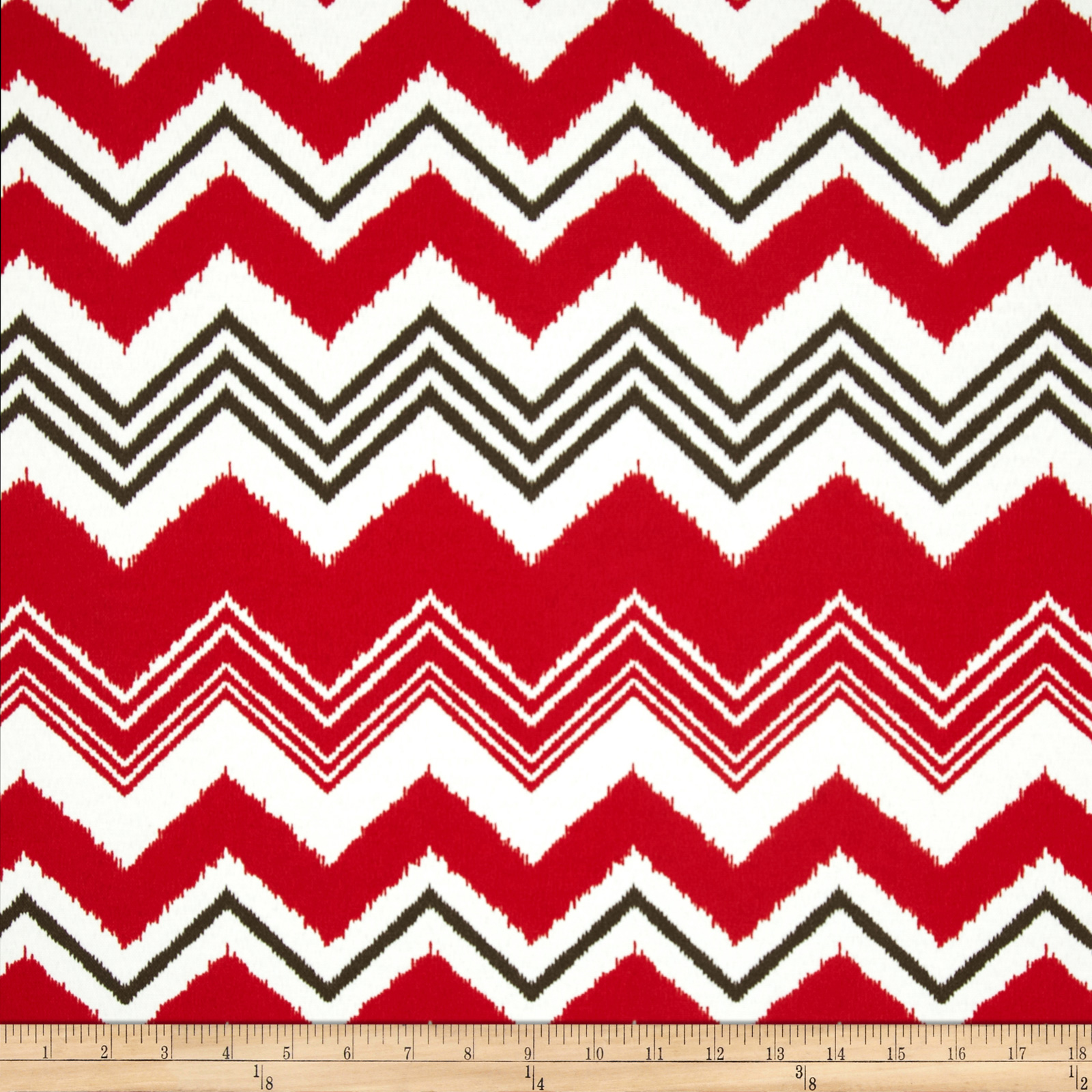 Premier Prints Indoor/Outdoor Zazzle Rojo Fabric