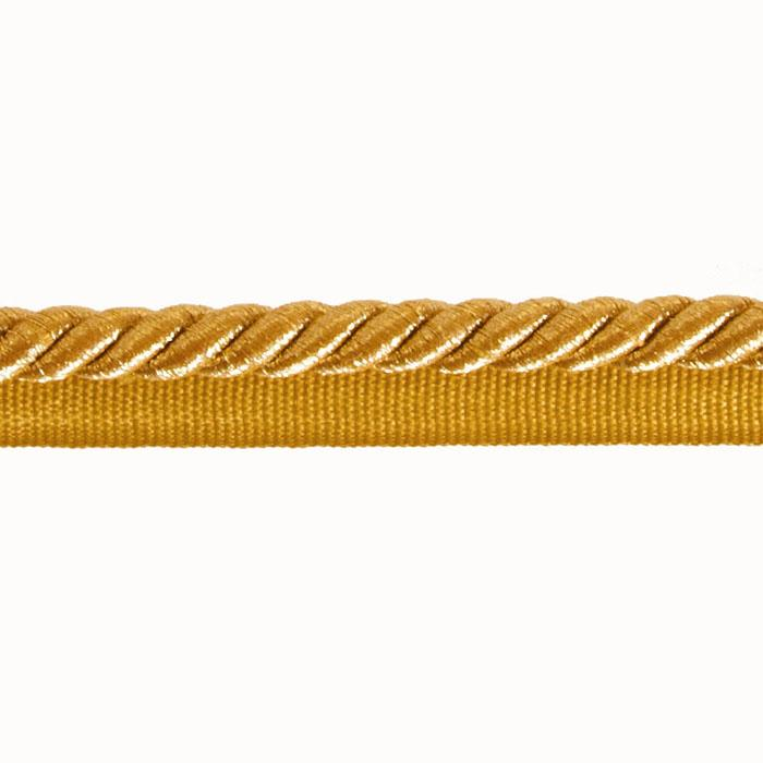 "Expo 3/8"" Nicholas Lip Cord Trim Metallic Gold"