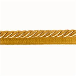 Expo 3/8'' Nicholas Lip Cord Trim Metallic Gold