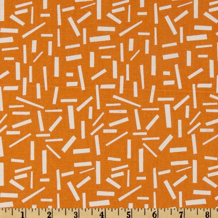 Premier Prints Sprinkles Gumdrop Orange/Natural