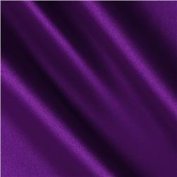 Charmeuse Satin Purple Fabric
