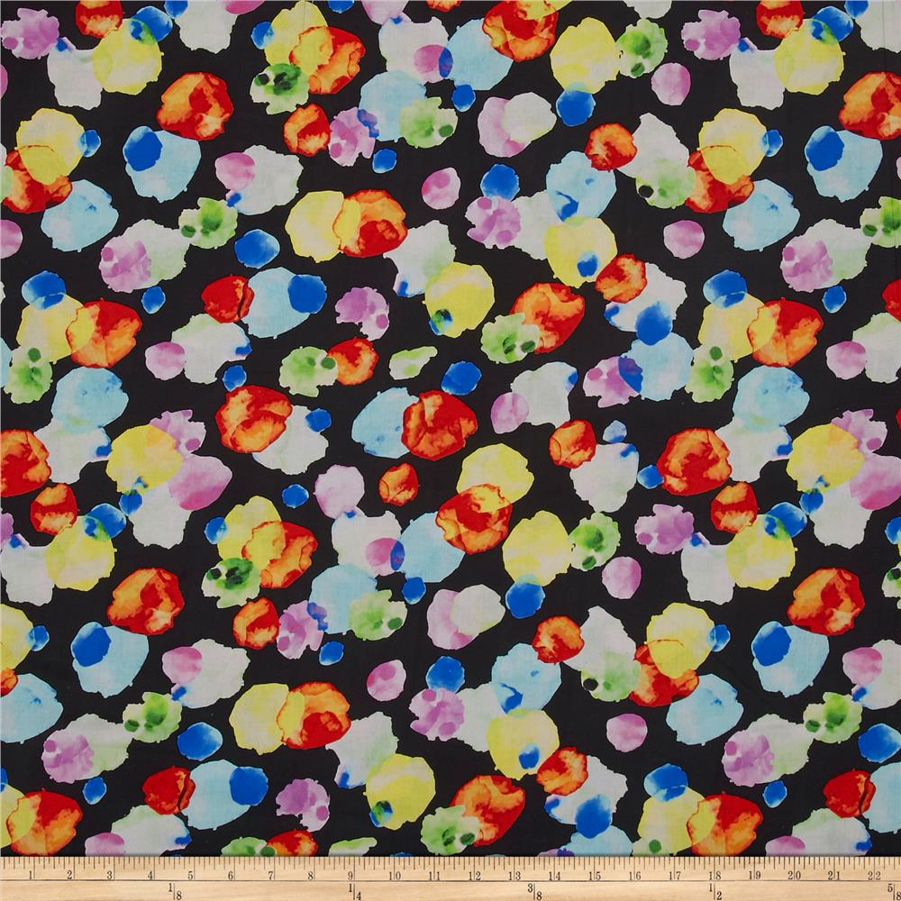 Potpourri Digital 108'' Black/Multi Fabric