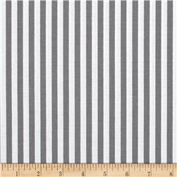 "Riley Blake 1/4"" Stripes Gray"