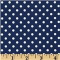 Aunt Grace Dots Navy
