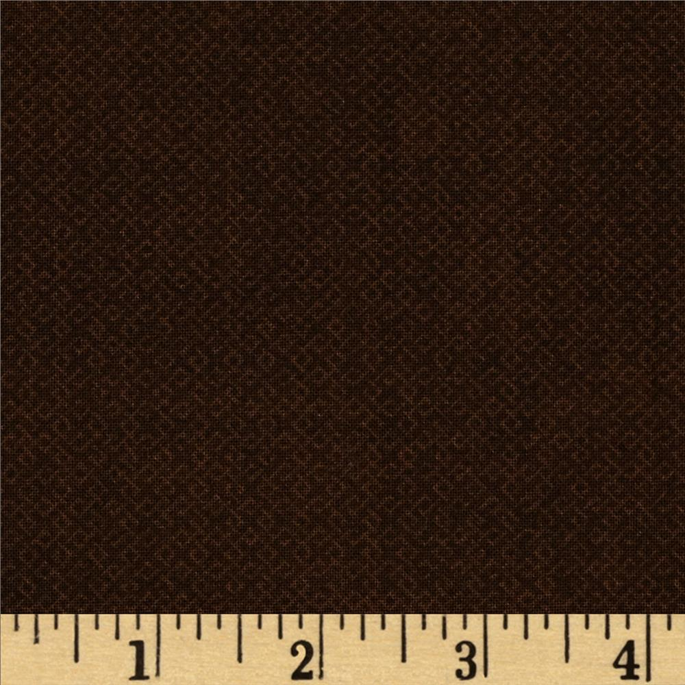 Essentials Criss-Cross Texture Burnt Brown