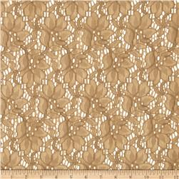 Flower Lace Tan