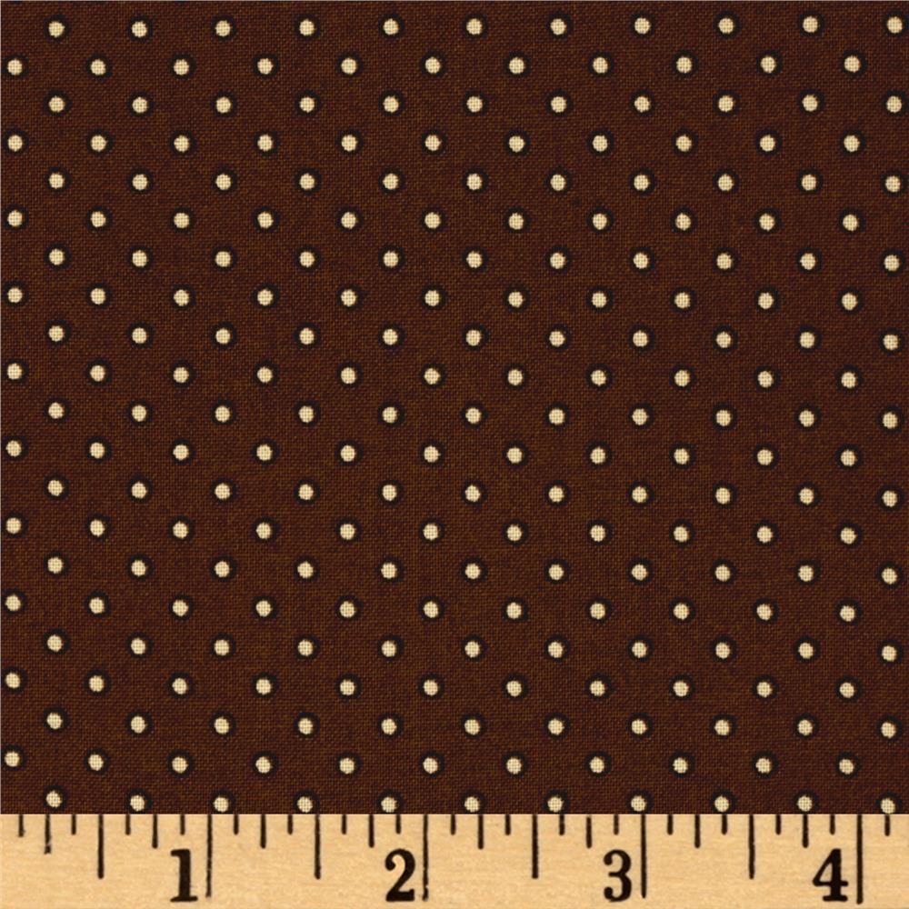 Windham Threads of Time Outline Dot Brown