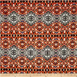 Liverpool Double Knit Ethnic Zig Zag Orange
