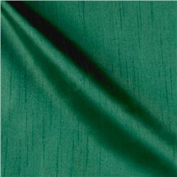 Worldly Faux Dupioni Silk Emerald