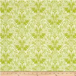 Ink & Arrow Zola Damask Cream/Light Green
