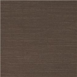 Rayon Crosshatch Gauze Dark Taupe