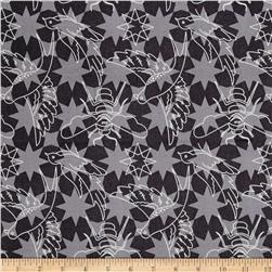 Alison Glass Seventy Six Flourish Pepper Black