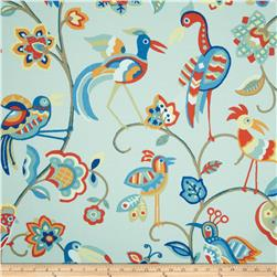Swavelle/Mill Creek Indoor/Outdoor Featherheads Blue Jay Fabric