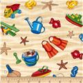 Timeless Treasures Beach Pass Beach Toys Sand