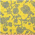 Amy Butler Lark Glamour Souvenir Lemon Yellow