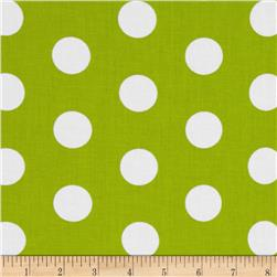 Let's Play Dolls Dots Lime
