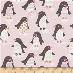 Blend Snow Day Penguin Parade Pink