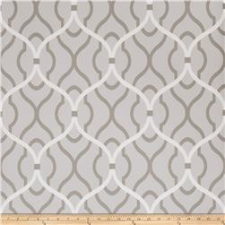 Fabricut 50094w Passa Ogee Wallpaper Dove 03 (Double Roll)