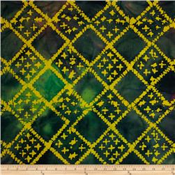 Indian Batiks Diamond Grid Multi