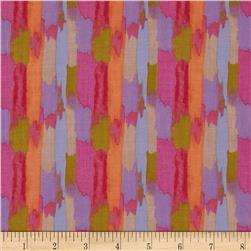 Secret Garden Bamboo Linen Pink Fabric