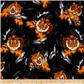 Timeless Treasures Realistic Tiger Multi