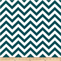 Premier Prints Indoor/Outdoor ZigZag Blue Moon