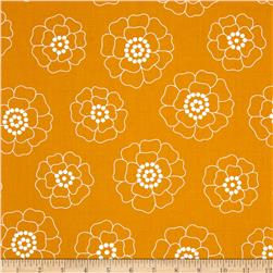 Contempo Palm Springs Mono Florals Orange