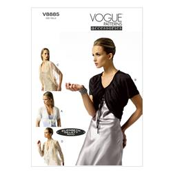 Vogue Misses' Jacket Pattern V8885 Size 0Y0