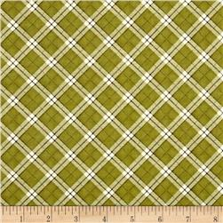 My Precious Quilt Plaid Green