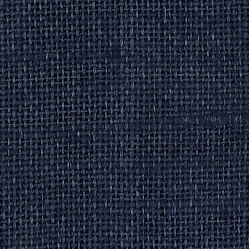 Burlap Dark Blue Fabric