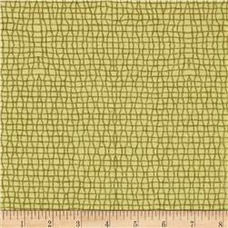 Parson Gray Empire Flannel Fishnet Velvet Fabric