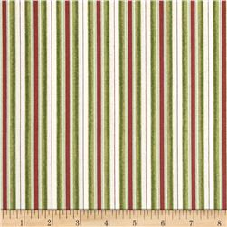 Santa Claus Stripe Green
