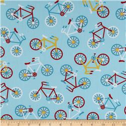 Ready Set Go Bikes Retro Fabric