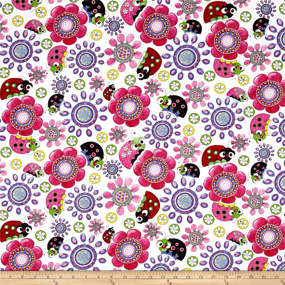 Lazy Little Ladybugs Ladybugs 7 Flowers Packed Multi