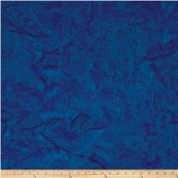 Island Batik Cotton Basics Blueberry
