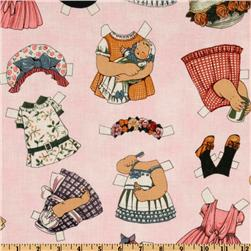 Paper Dolls Clothing Pink