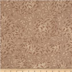 Climbing Vine 108'' Wide Back Taupe Fabric