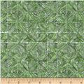 Paradise Geo Patch Green