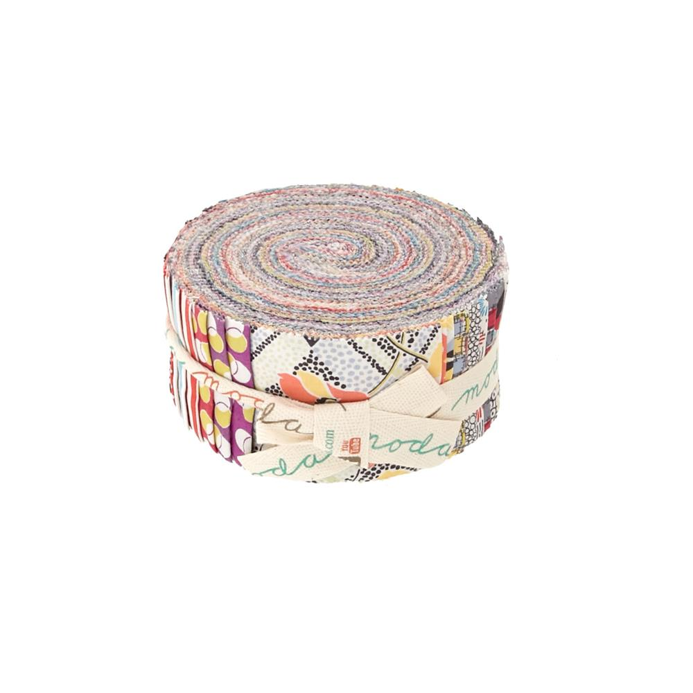 Moda Gardenvale 2.5 In. Jelly Rolls Multi