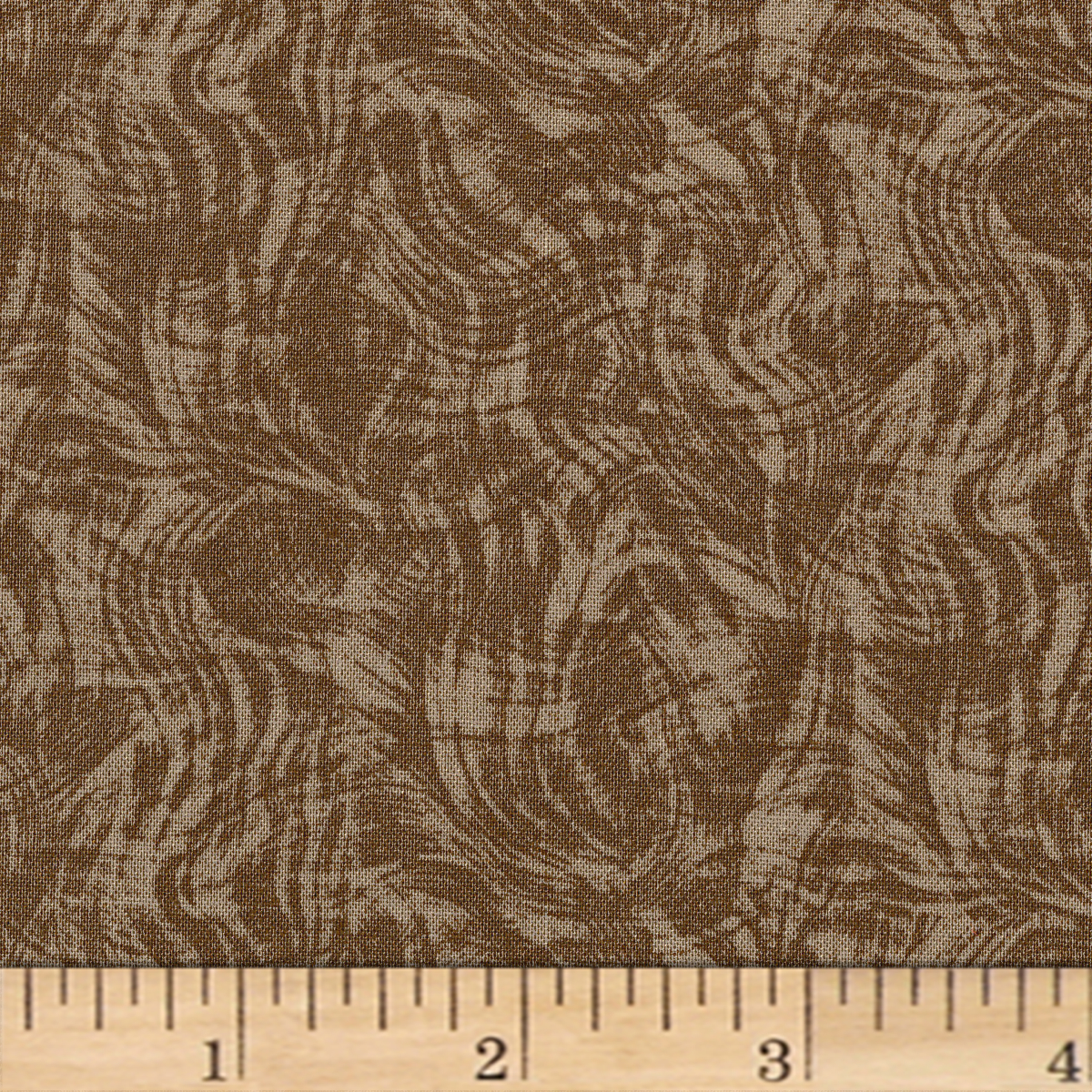 Impressions Moire Ii Light Brown Fabric