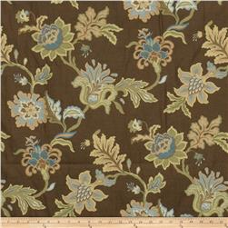 Jaclyn Smith Embroidered Aquilla Jacquard Mist