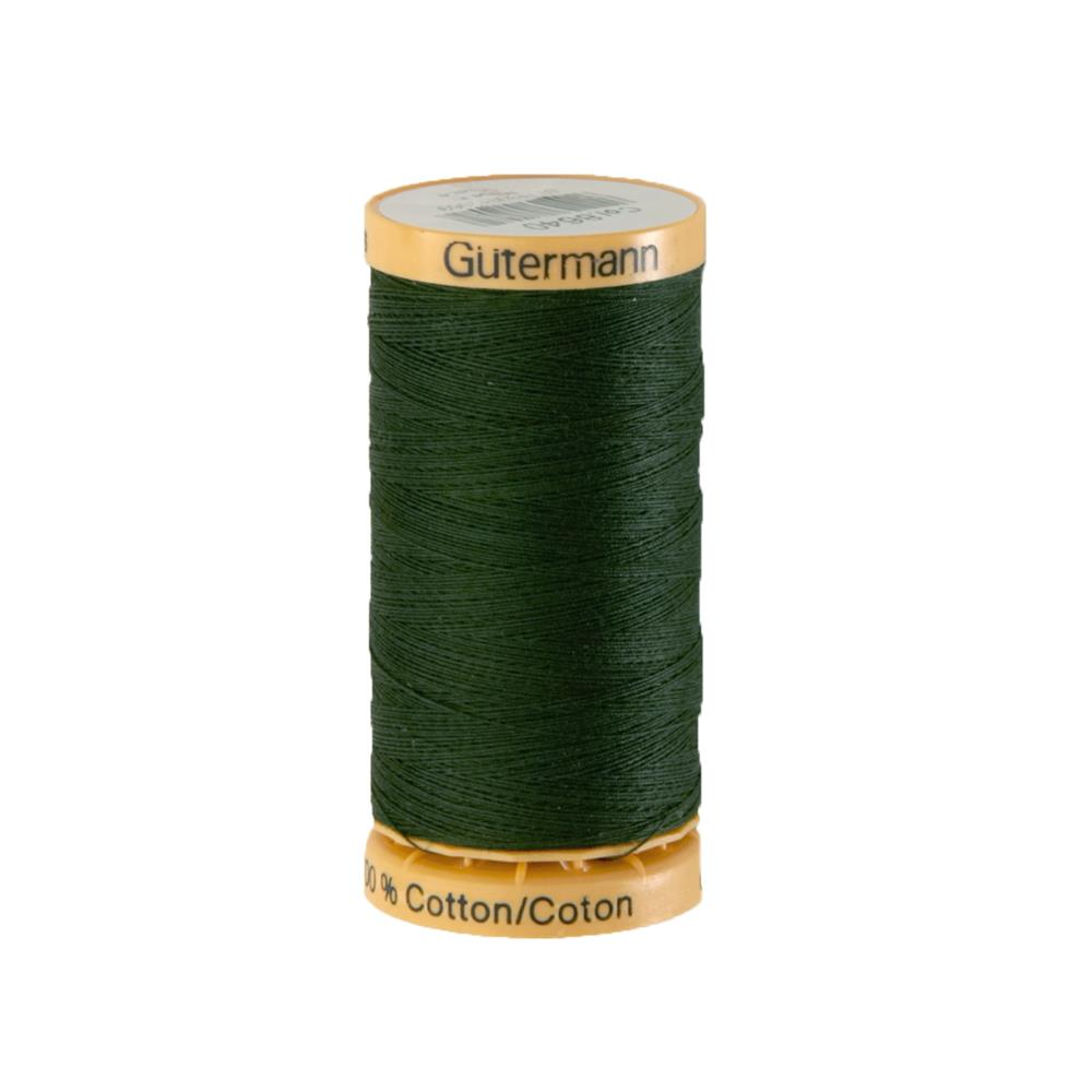 Gutermann Natural Cotton Thread 250m/273yds Very Dark Green