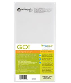 "AccuQuilt GO! Cutting Mat 5"" x 10"" (55110)"