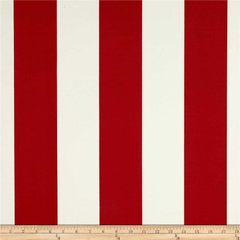 Richloom Solar Outdoor Cabana Stripe Red