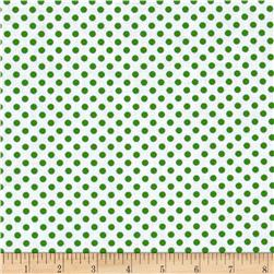 Spot On II Mini Dots White/Dark Green