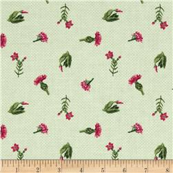 Urban Amish Flowers Light Green