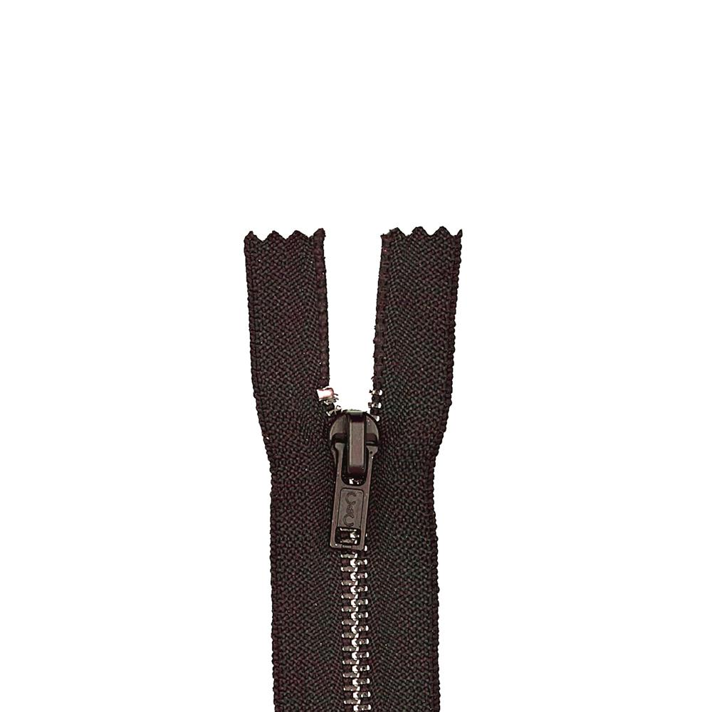 "Metal All Purpose Zipper 7"" Cloister Brown"