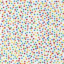 Timeless Treasures Mini Dots Brite